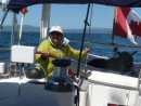 easy  1/2 day sail from Santa Cruz to Monterey