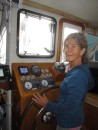 Elizabeth takes the helm.