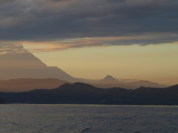 G. Kinabalu from the north.