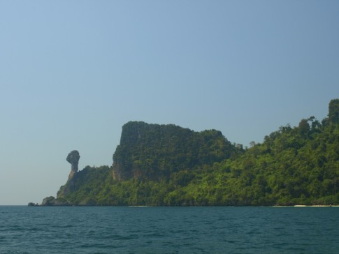"Ko Dam Kwok, aka ""Chicken Island"" for some reason."