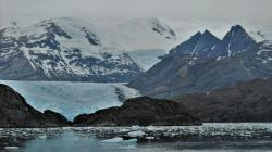 Seno Ventisquero. Like so many others, we were not able to get very close to the glacier due to ice.