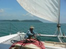 Sailing into Langkawi