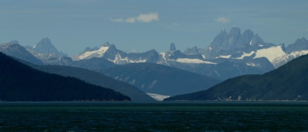 Looking up Taku Arm just south of Juneau.