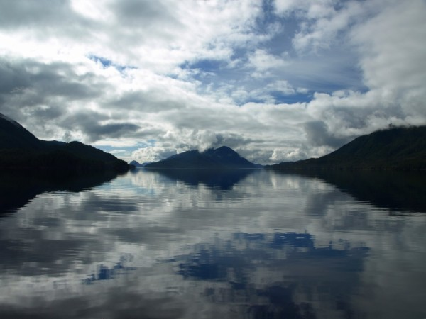 Another glassy day on  the Inside Passage.