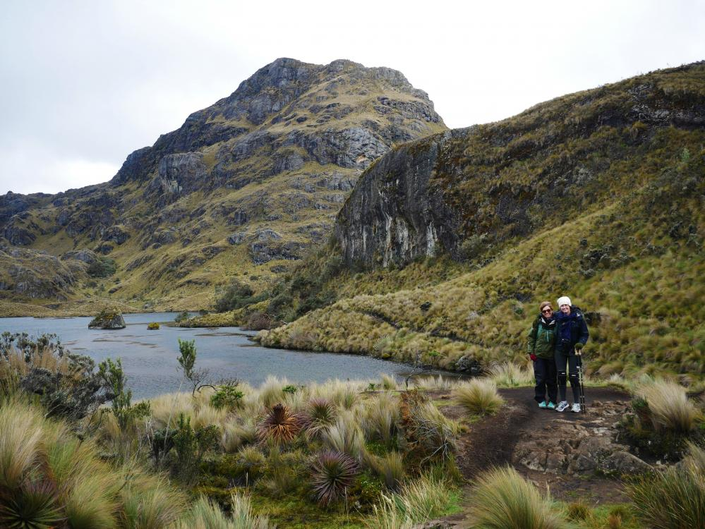 Las Cajas National Park: We spent the day hiking around this beautiful park at 13,000 ft.