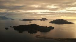 Tic Toc Bay from the air