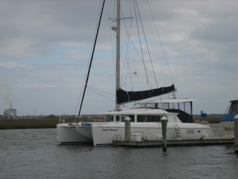 LD spent its last month in Fernandina Beach at the Oyster Bay Yacht Club.
