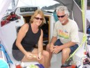 Sailing with Mike & Sheryl