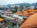 Beautiful view! Chinese Temple -