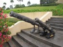 Cannons at the Gov. Center