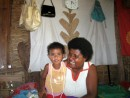 Tima & daughter - we bought handmade jewerly from them