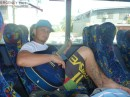 On the bus to Pacific Harbour - Shark Dive