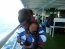 Little baby on Ferry