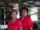 Dee & Bale - Staff at the marina - their warm smiles making me smile everyday!
