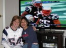 Kate, Monique and the Patriots; wow, did we miss American Football!!