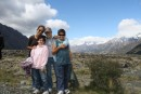 Barkman/Burgess kids at Mt Cook in NZ