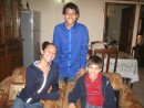 Cammi, Cole and cousin, Shobit in Delhi