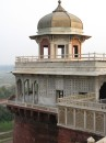 Tower that held Shah Jahan captive in Agra Fort