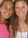 Cammi and Hallie from s/v Lightfoot - great girl just a year older than Cammi, from Colorado