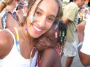 Cammi and friend, carnival, Grenada