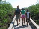 Walking to Playa Tortuga