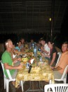 s/y Carl Linne and s/v Zen enjoy a pig roast in Nuku Hiva