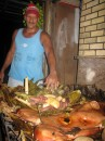 Our pig roast extraordinaire! Nuku Hiva