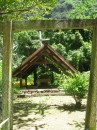 Little chapel on way to waterfall, Nuku Hiva