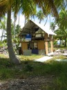 Local hut in Fakarava
