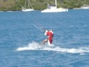 Santa arrives Bitter End Virgin Gorda