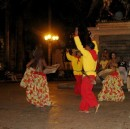 Nightly entertainment in old town squares