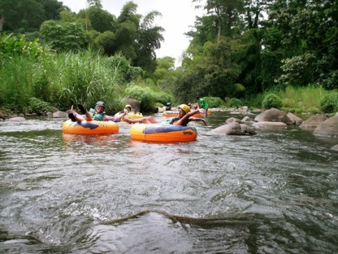 River rafting trip in Grenada
