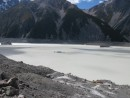Tasman Glaciers and icebergs...lake is only 35 years old and 600 feet deep - NZ is known as the youngest country on Earth