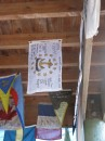 Rhode Island flag hung in Suwarrow Base Camp, Cook Islands (Thanks Stu Mills!)