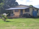 Typical home in Aitutaki, Cook Islands