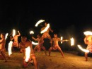 Fire dancing in Aitutaki, Cook Islands