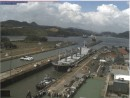 Entering Miraflores Locks