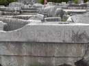 Priene -Ancient script still readable, if only we understood Greek.