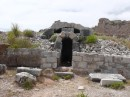 Miletus -tomb with only five large, carefully shaped blocks to form the arch.