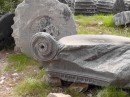 Priene -Ionic column capital.
