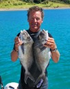 spearfishing catch of the day