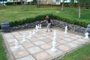 life sized chess