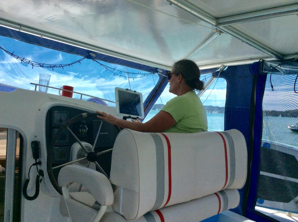 KATH AT THE HELM