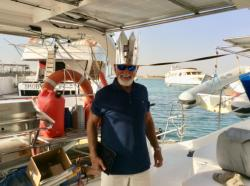 GEORGE GREENBERG IS 70!  King George: A dinner party celebrating George's 70th birthday tho he preferred to remain 69.  So, his crown had KING GEORGE LXIX.