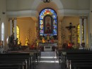 Inside of the mission
