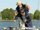 Christening - Chesapeake Bay Maritime Museum, St. Michaels, Md 2006