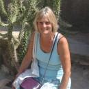 Judy on Formenterra.