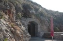 Exit from Dirou Caves, Southern Peleponnese at sea level.