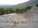 Ancient Greek theatre at Epidausus