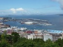View from fortress in Vigo